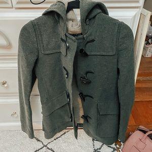 THEORY Emerald Wool Coat